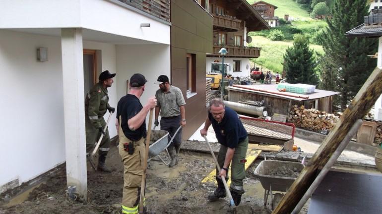 KAT-Zug-Einsatz in See/Paznaun