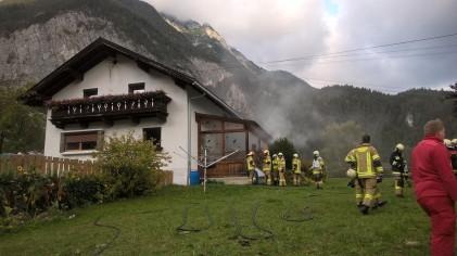 Gebäudebrand Nassereith