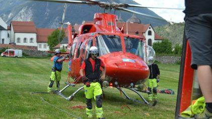 Hubschrauberübung Stams
