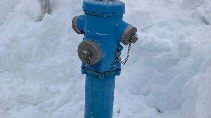Schneebefreiung Hydranten