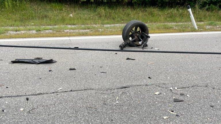 Verkehrsunfall B189 nähe Holzleitensattel